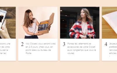 Le Closet: Notre Avis sur La location de Box de Vêtements